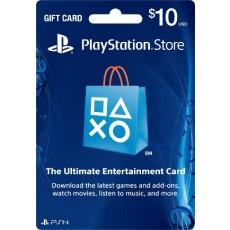10 Dollar Playstation Network Card US