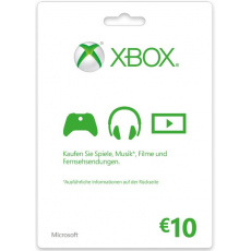 10€ Xbox Gift Card