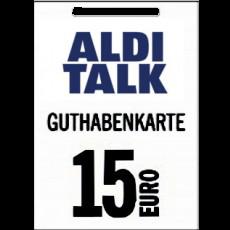 15€ Aldi-Talk Guthabencode