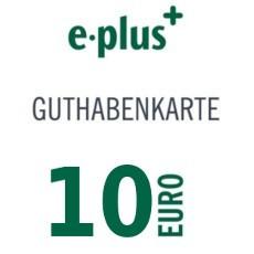 10€ E-Plus Guthabencode