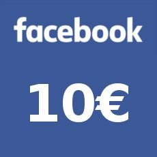 10€ Facebook Gift Card