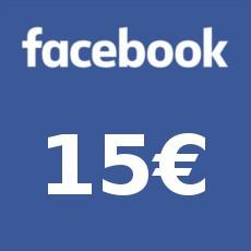 15€ Facebook Gift Card