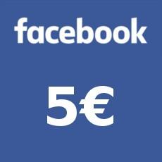 5€ Facebook Gift Card