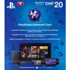 Schweiz: 20 CHF Playstation Network Card