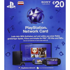 20 Euro Playstation Network Card Only For Austria Playstation Cards