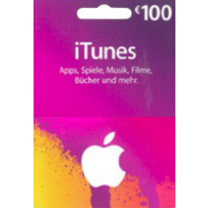 100 Euro iTunes Gift Card