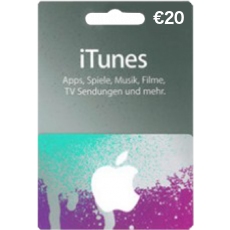 20 Euro iTunes Gift card
