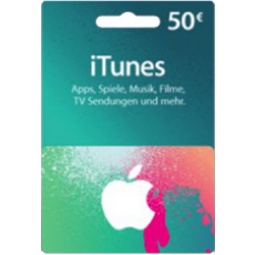 50 Euro iTunes Gift Card