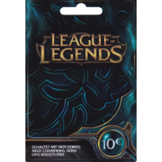 10€ League of Legends - 1580 Riot Points