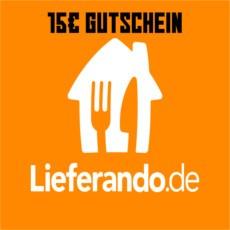 15€ Lieferando Gutschein