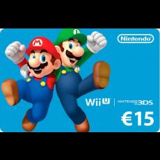 15€ Nintendo eShop Giftcard