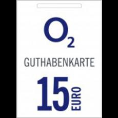 15€ o2 Guthabencode