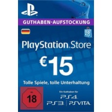 15 Euro Playstation Network Card DE