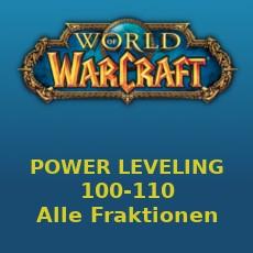Power leveling 100-110 Alle Fraktionen