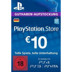 10 Euro Playstation Network Card DE