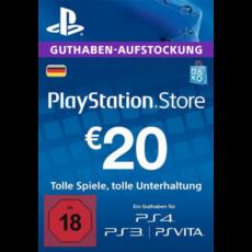 20 Euro Playstation Network Card DE