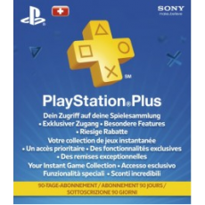 Playstation Plus 90 days CH - only for Switzerland!