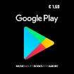 1,50€ Google Play Gift Card
