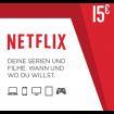 15€ Netflix prepaid card