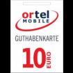 10€ Ortel Guthabencode
