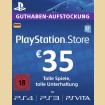 35 Euro Playstation Network Card DE