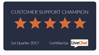livechatinc certified customer support champion